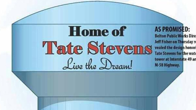 tate stevens water tower