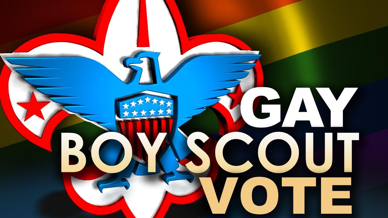 Gay Boy Scout Vote