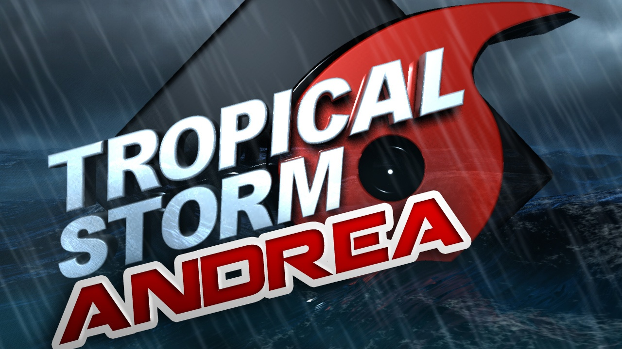 Tropical storm Andrea