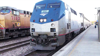 Picture of Amtrak train