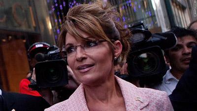 Sarah Palin. Photo courtesy: CNN.