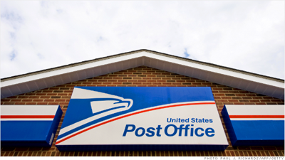 The U.S. Postal Service is asking for rate hikes which are expected to raise $2 billion for the cash-strapped agency. Photo courtesy: CNN