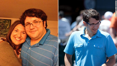 Dion Almaer experimented with weight loss and ended up losing 115 pounds. Photo courtesy: CNN.