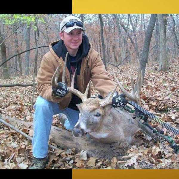 James Lockard, an Independence, Mo. police officer was riding an ATV when a tree fell on him and killed him while he was out deer hunting.