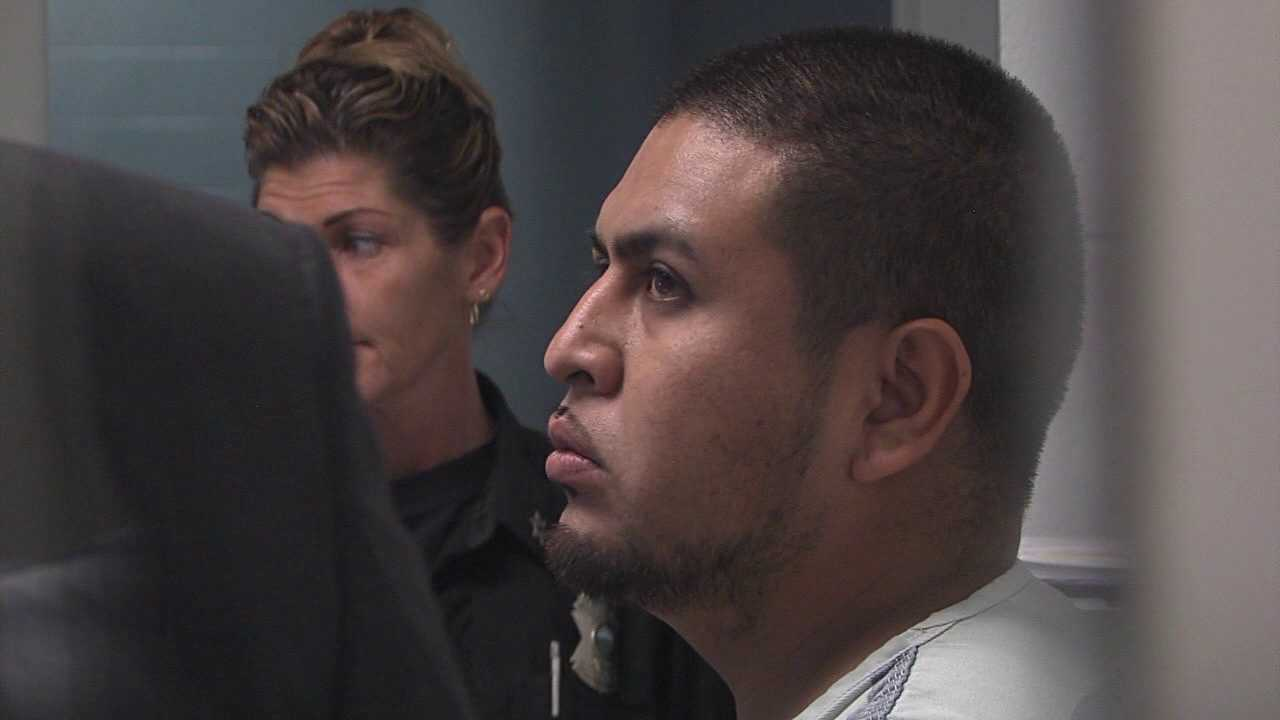 Jose Luna Gonzalez is charged with misdemeanor stalking.