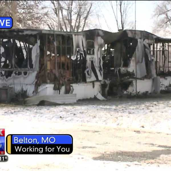 A fire at a Belton, Mo. mobile home killed a man.