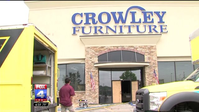 Crowley Furniture Cleans Up After Fire, Crowley Furniture Liberty Missouri