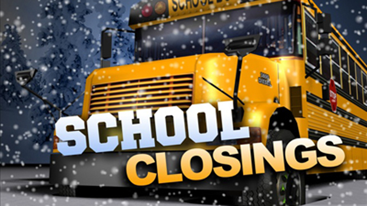 school closings graphic