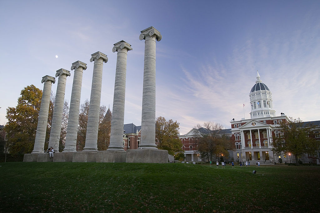 Picture of Jesse Hall and the Columns