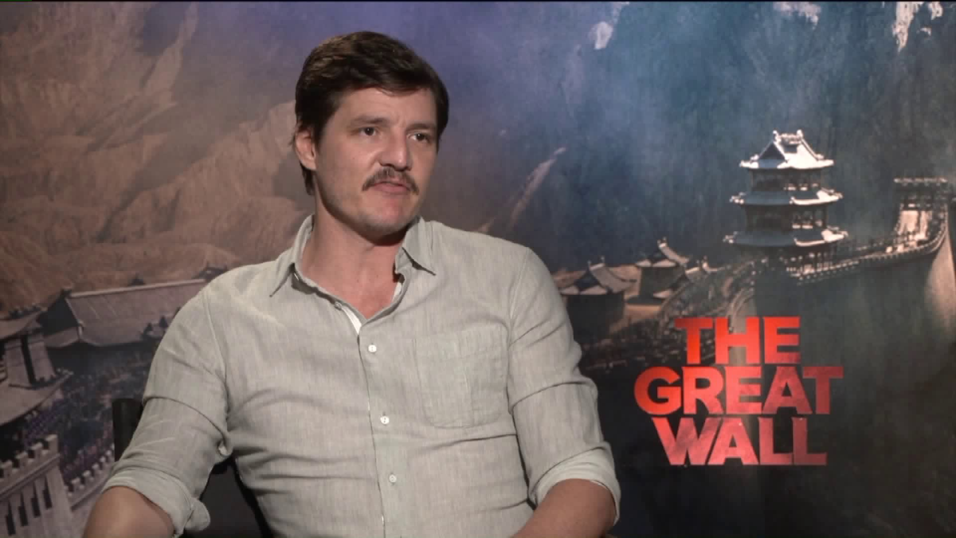 Pedro Pascal Says Extravagant Set Created For The Great Wall