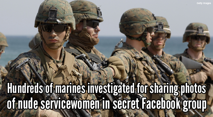 Hundreds of Marines Investigated for Sharing Nude Photos