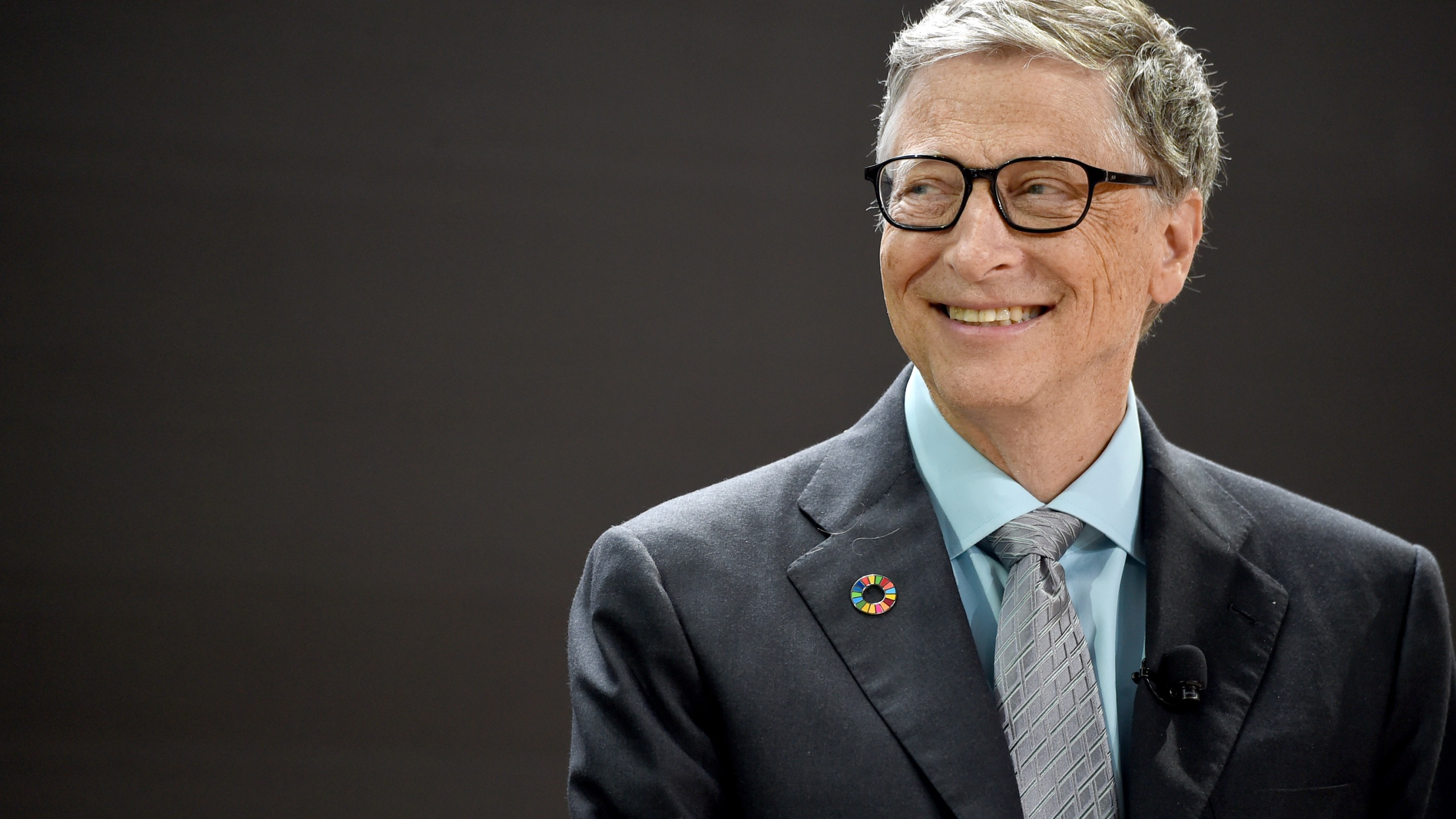 Picture of Bill Gates smiling