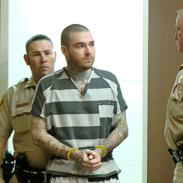 Picture of Yust in court
