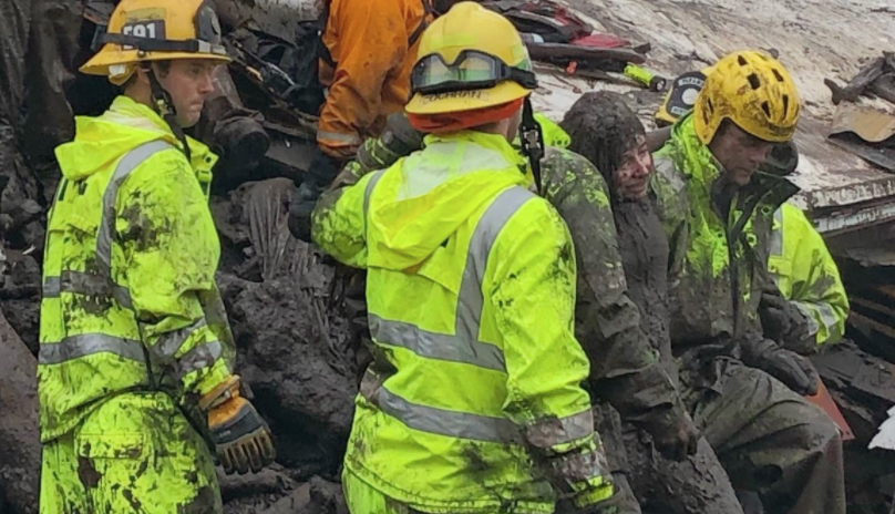 Firefighters Pull 14 Year Old From Home Leveled In Deadly California Flooding Mudslides Fox 4 Kansas City Wdaf Tv News Weather Sports