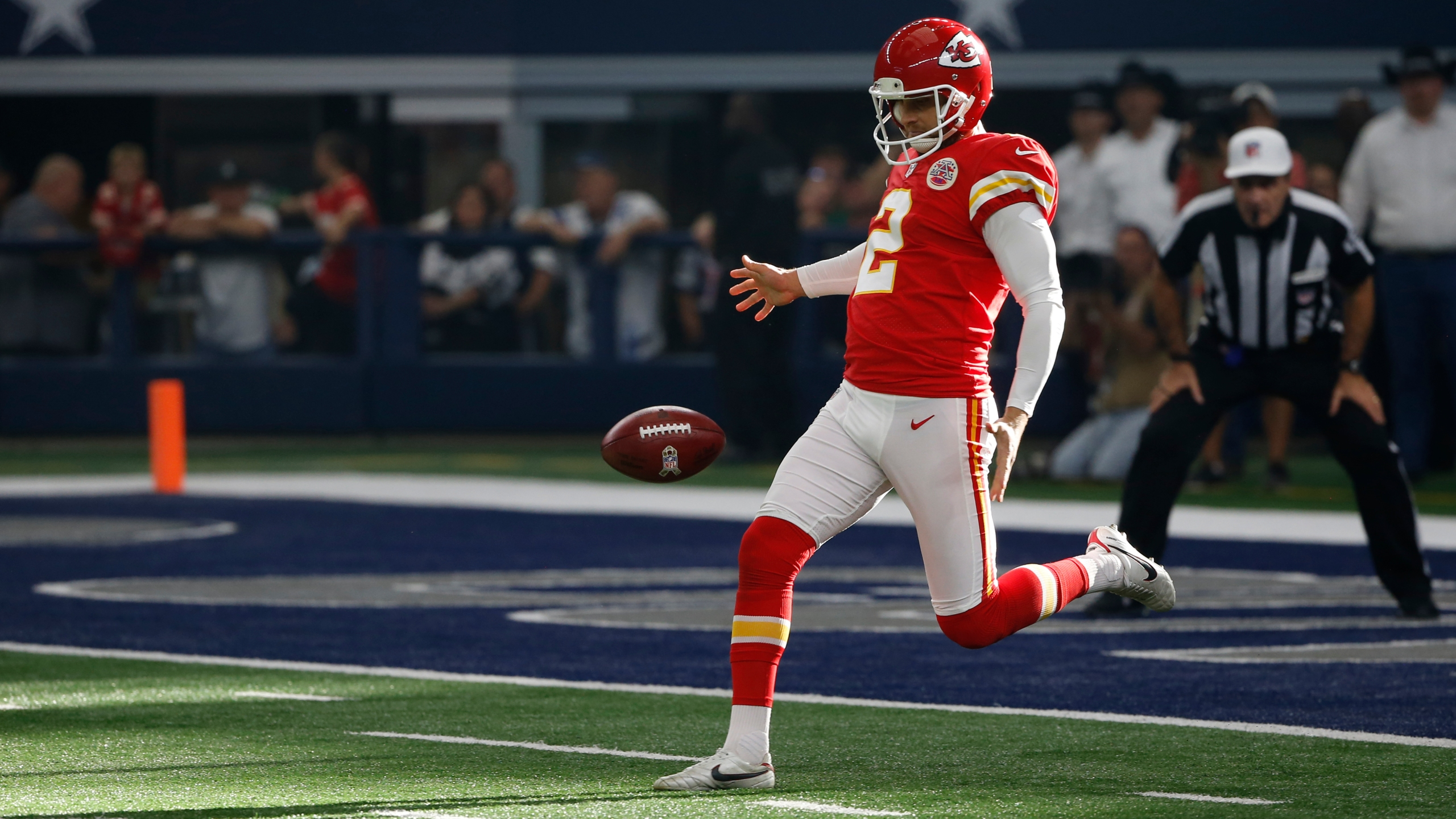 Picture of Colquitt punting