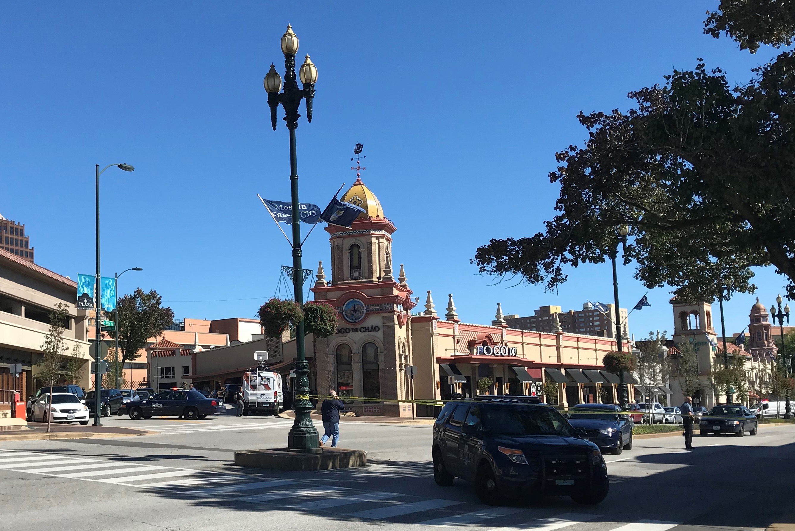 Обои missouri, kansas city, country club plaza, Jc nichols memorial fountain, канзас-сити. Города foto 16