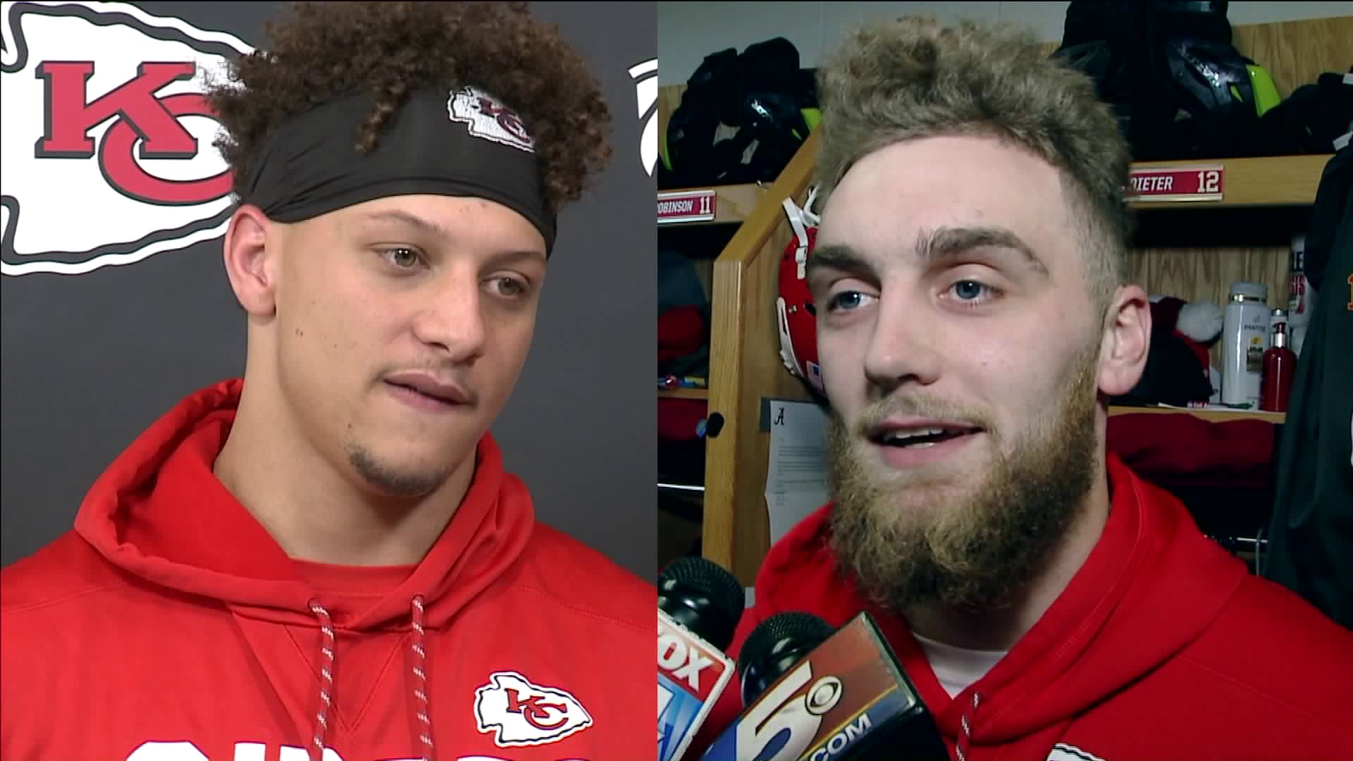 Chiefs Qb Mahomes And Wr Dieter Debate Over Who Wore