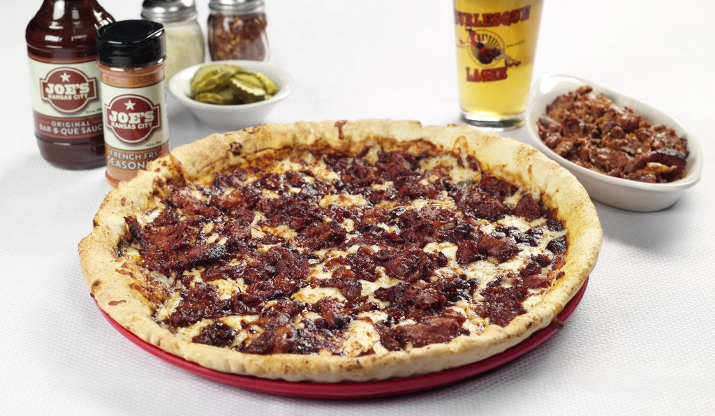 Picture of BBQ pizza