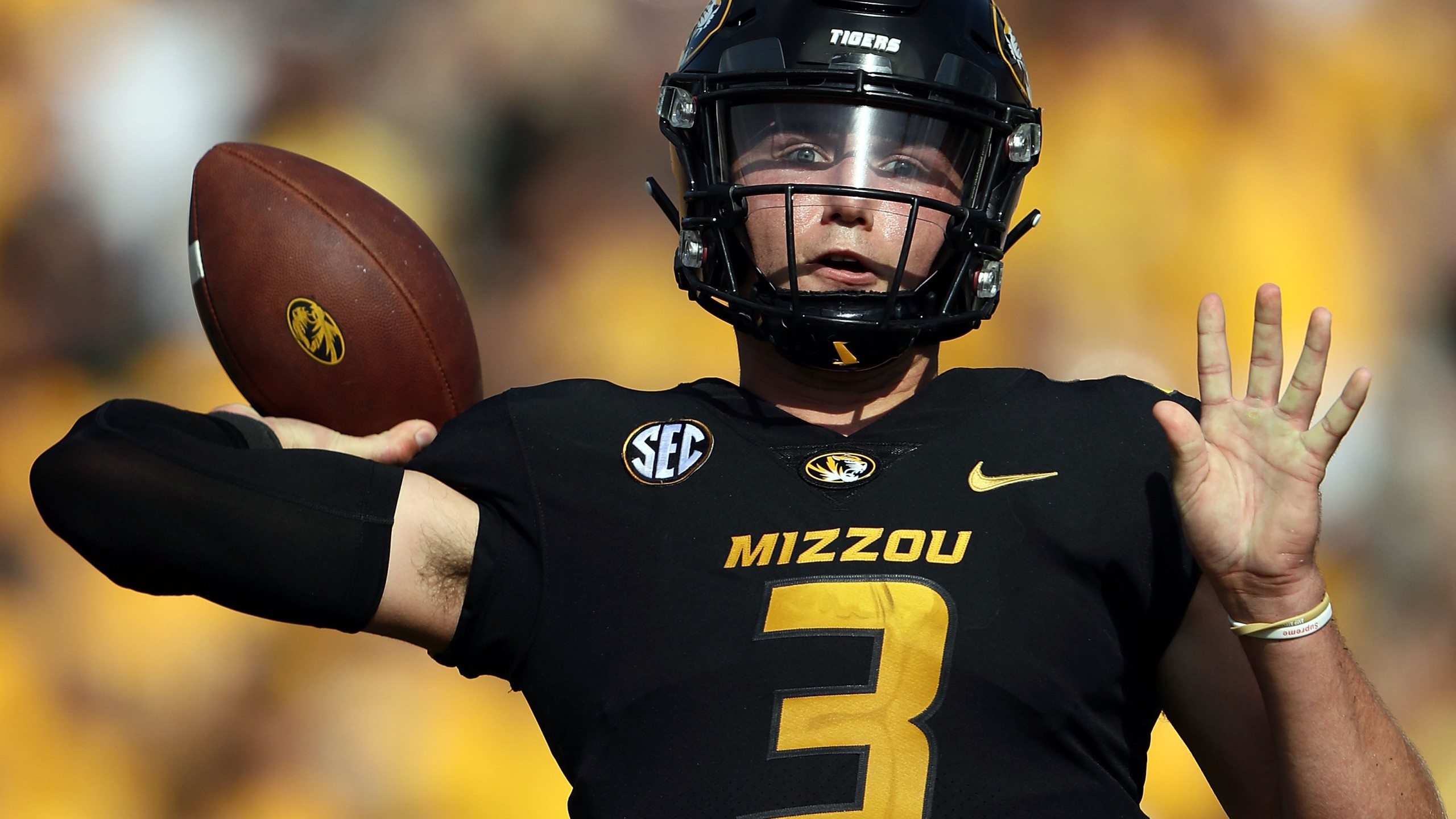 Picture of Drew Lock at Mizzou