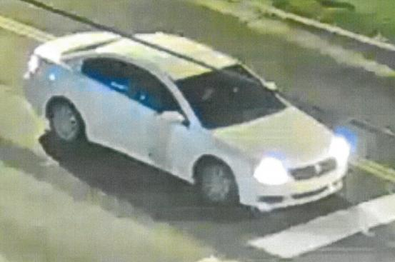 Picture of suspect's car