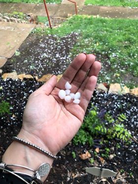 Hail in Kansas City