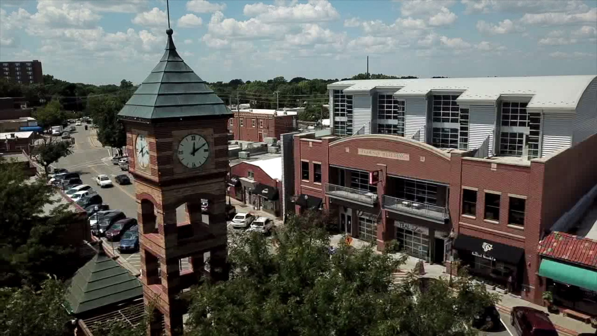 Picture of downtown Overland Park