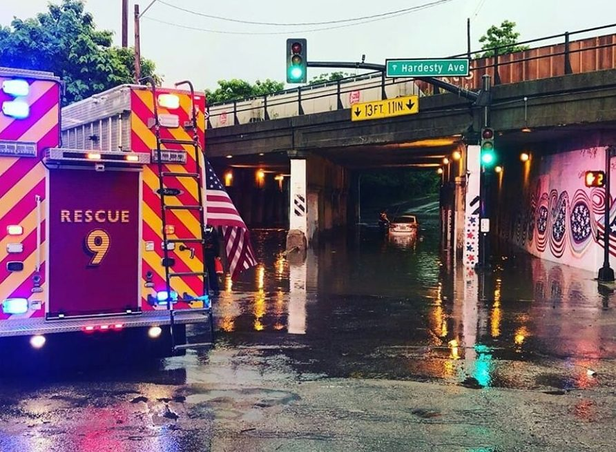 Photo of water rescue