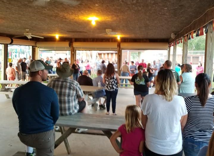Picture of vigil for missing Wisconsin brothers