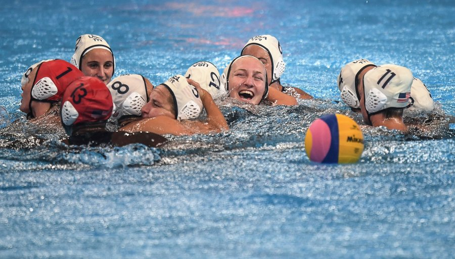 Picture of The US Women's National Water Polo team