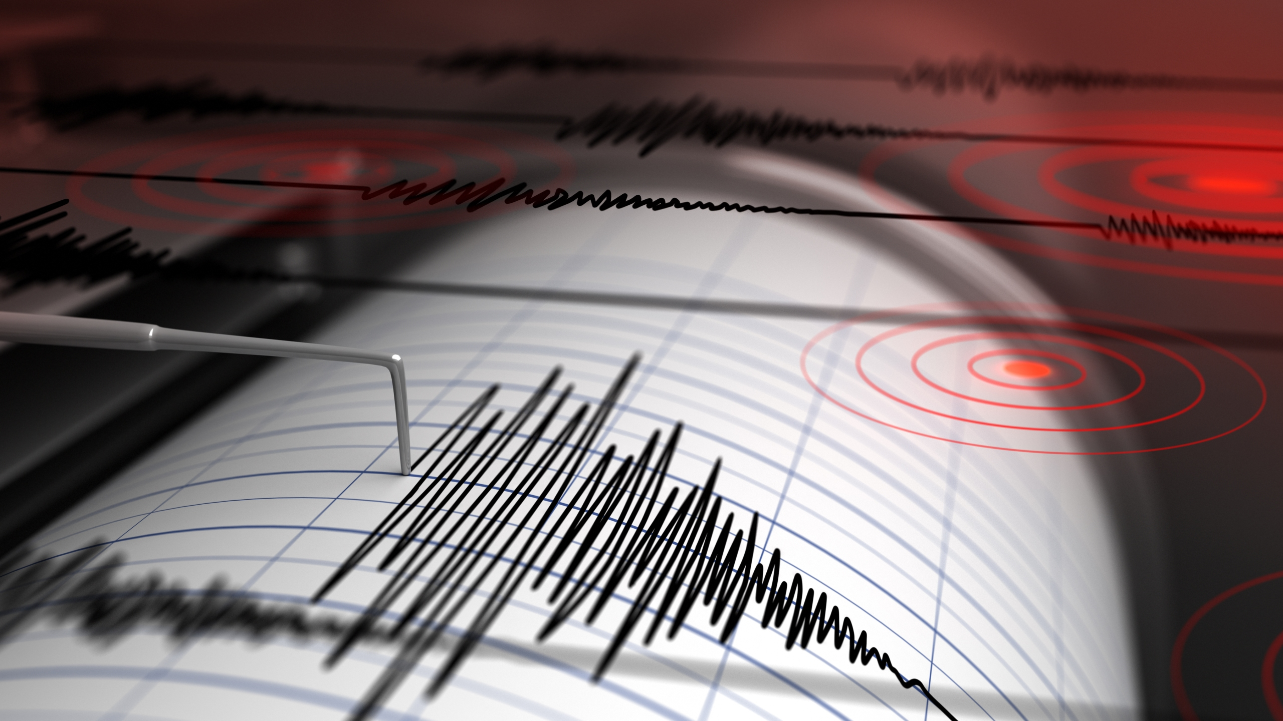 Graphic of seismograph
