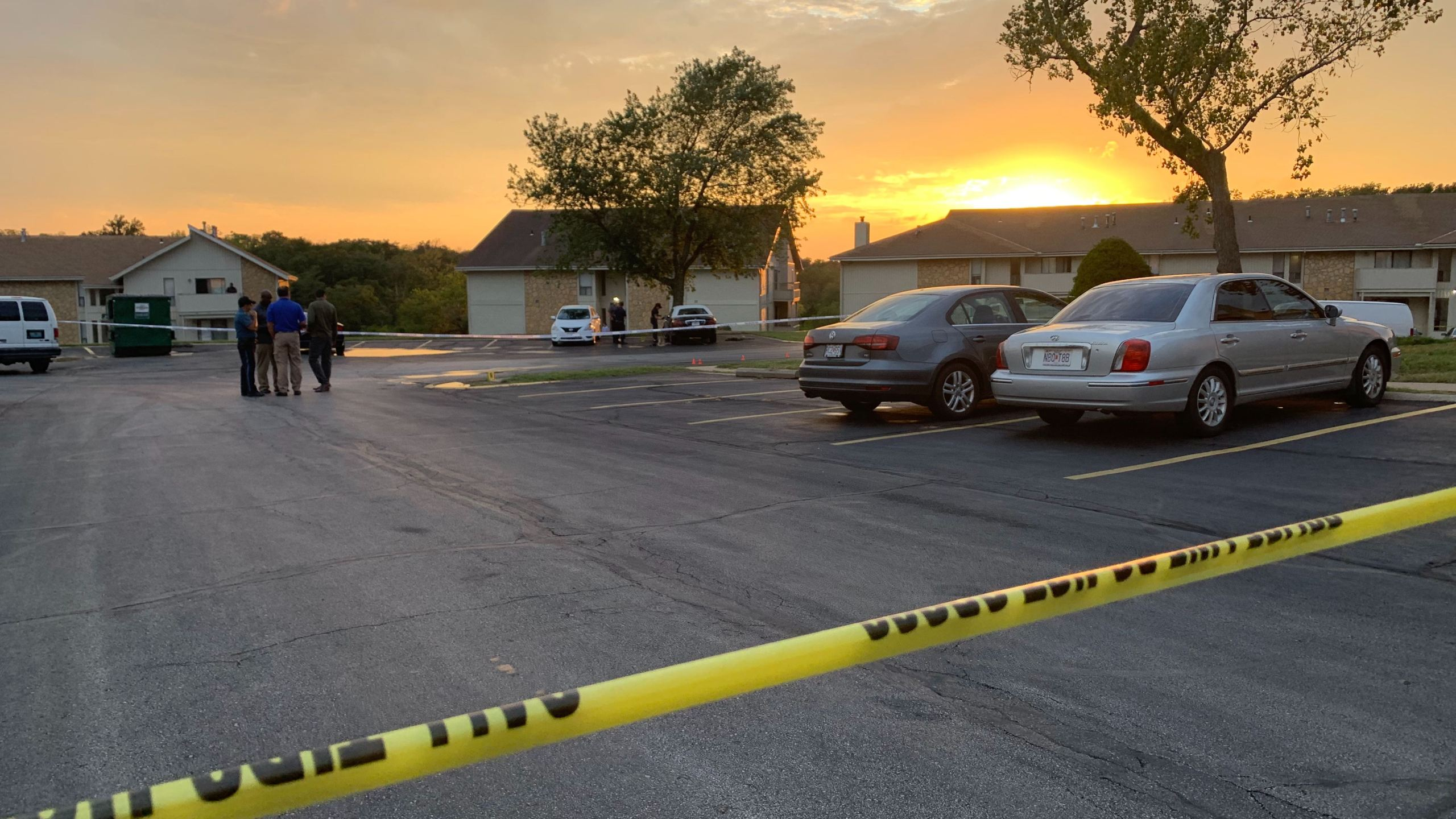 Homicide 98th and Willow at the View High Lake Apartments