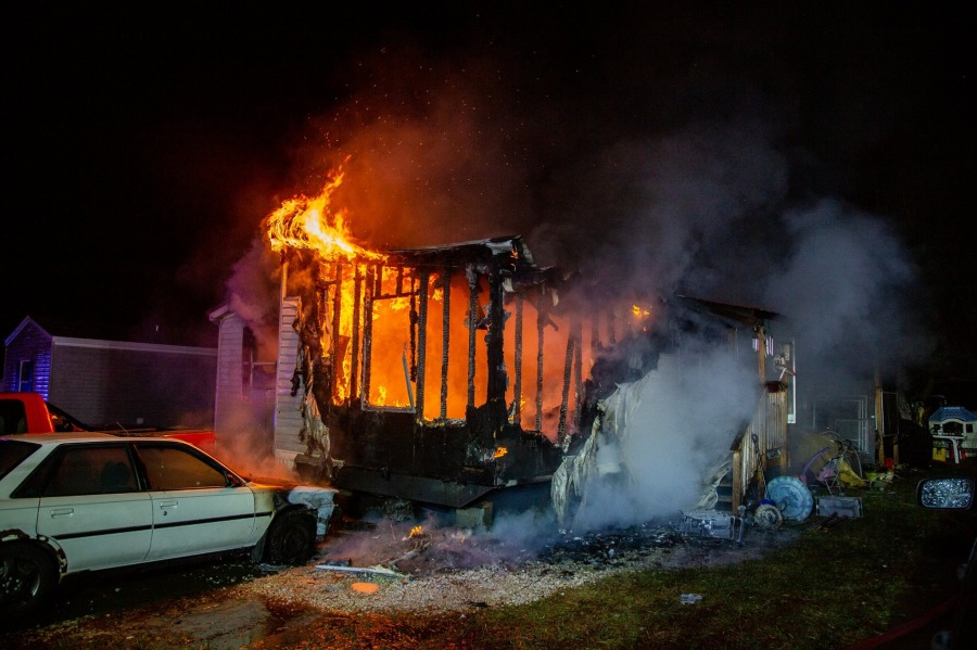 Fire near St. Louis picture