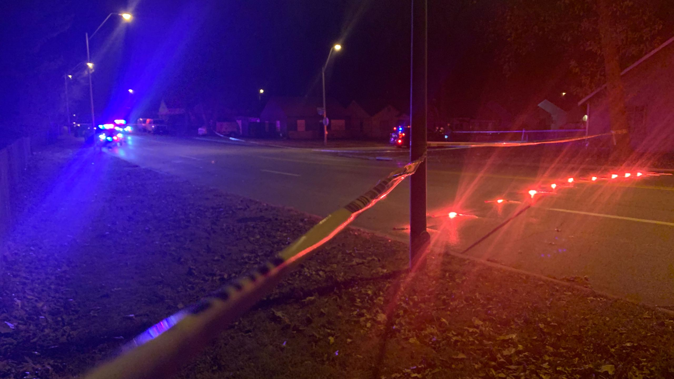 Shooting scene at Gregory and Flora