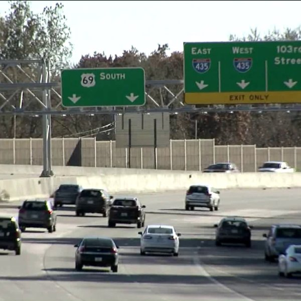 Picture of cars on 69 highway