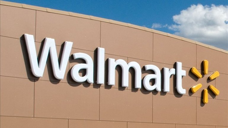 Picture of Walmart sign