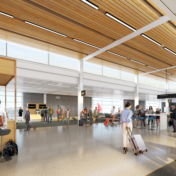 Rendering of new KCI terminal