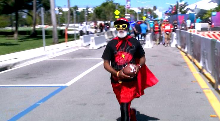 KC Superman in Miami