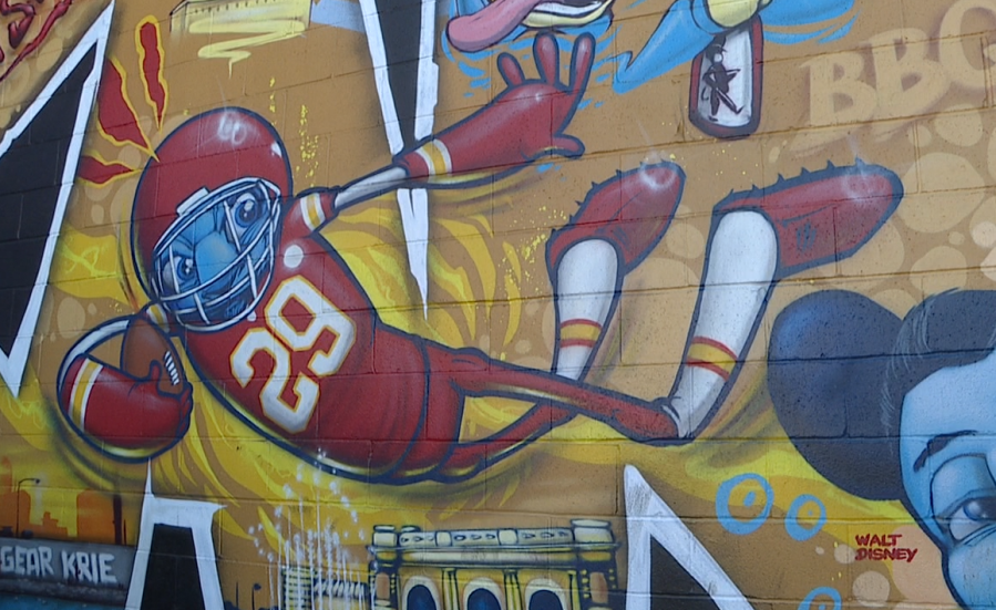 Southwest Boulevard mural