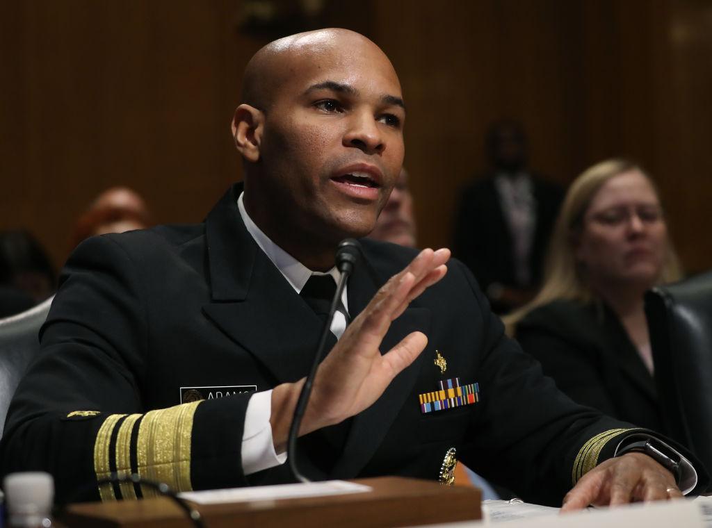 Surgeon General Jerome M. Adams Testifies Before The Senate Finance Committee
