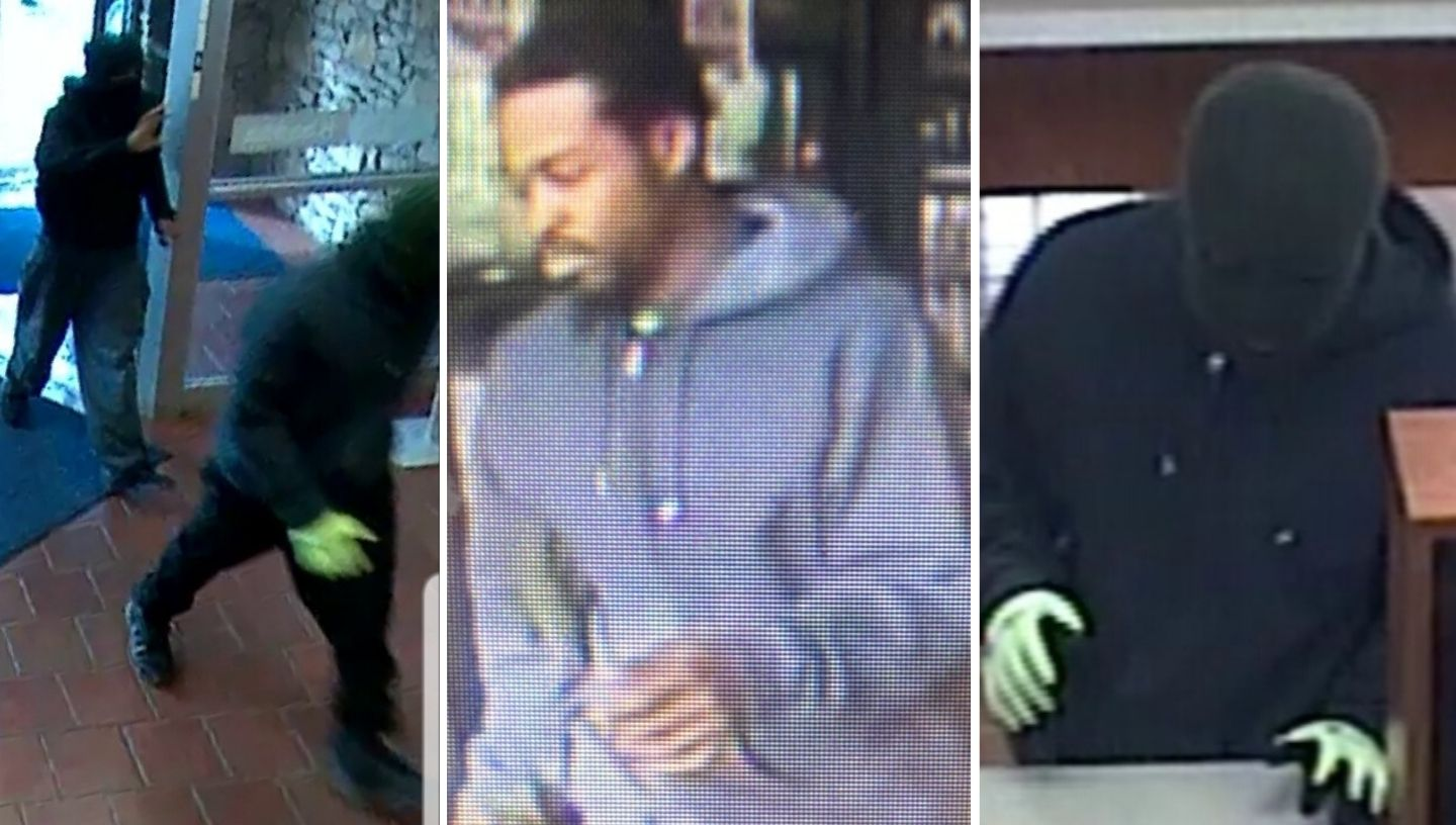 First Federal Bank robbery FBI pictures