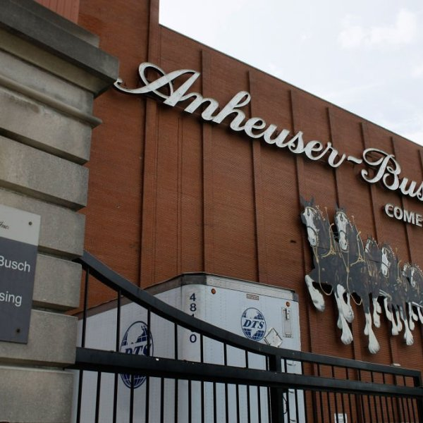 Anheuser-Busch factory picture