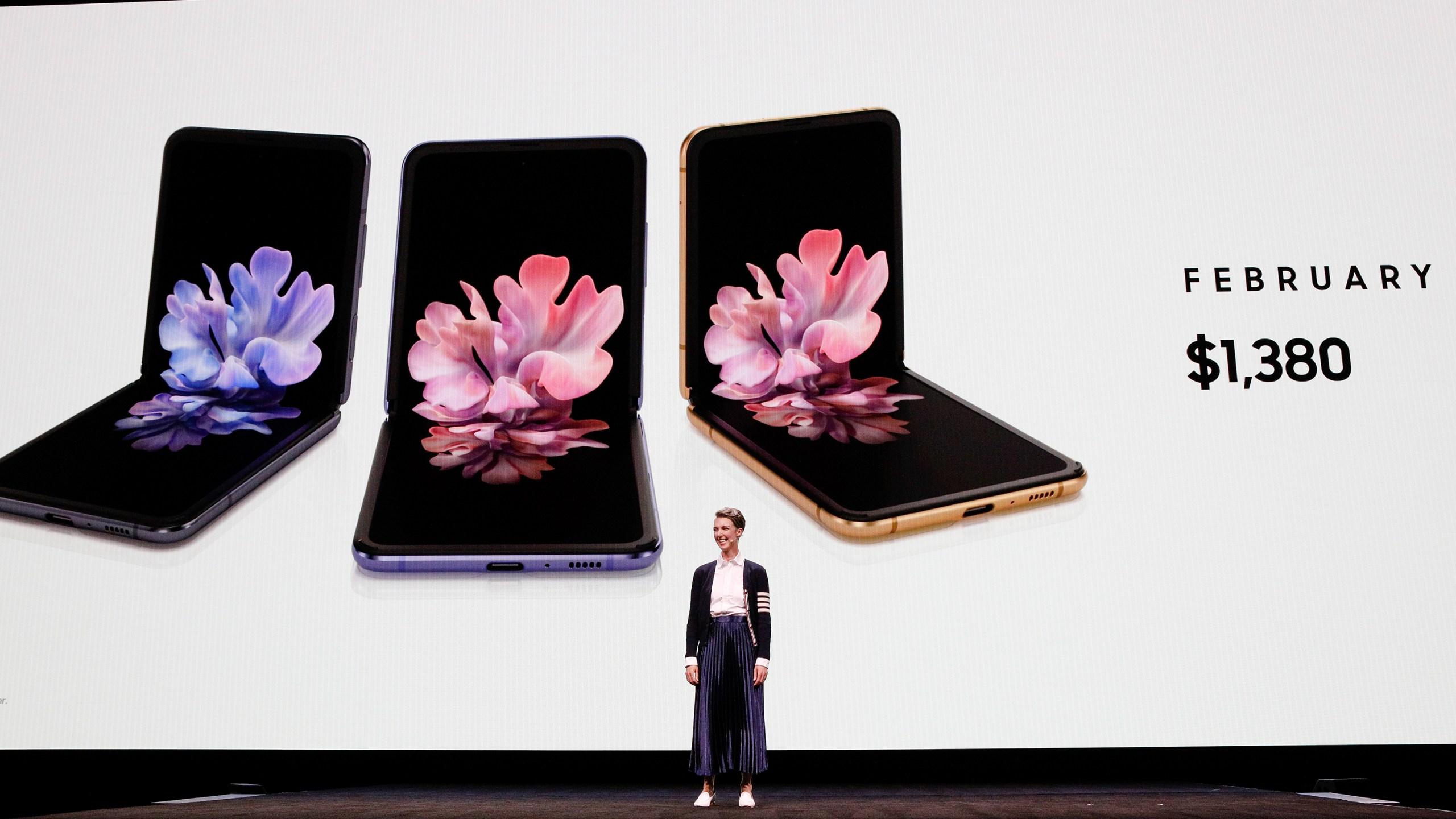 Samsung's Galaxy Z Flip picture