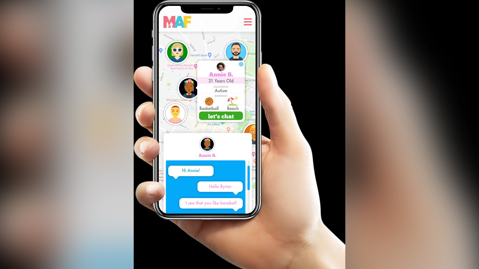 Making Authentic Friendships web app