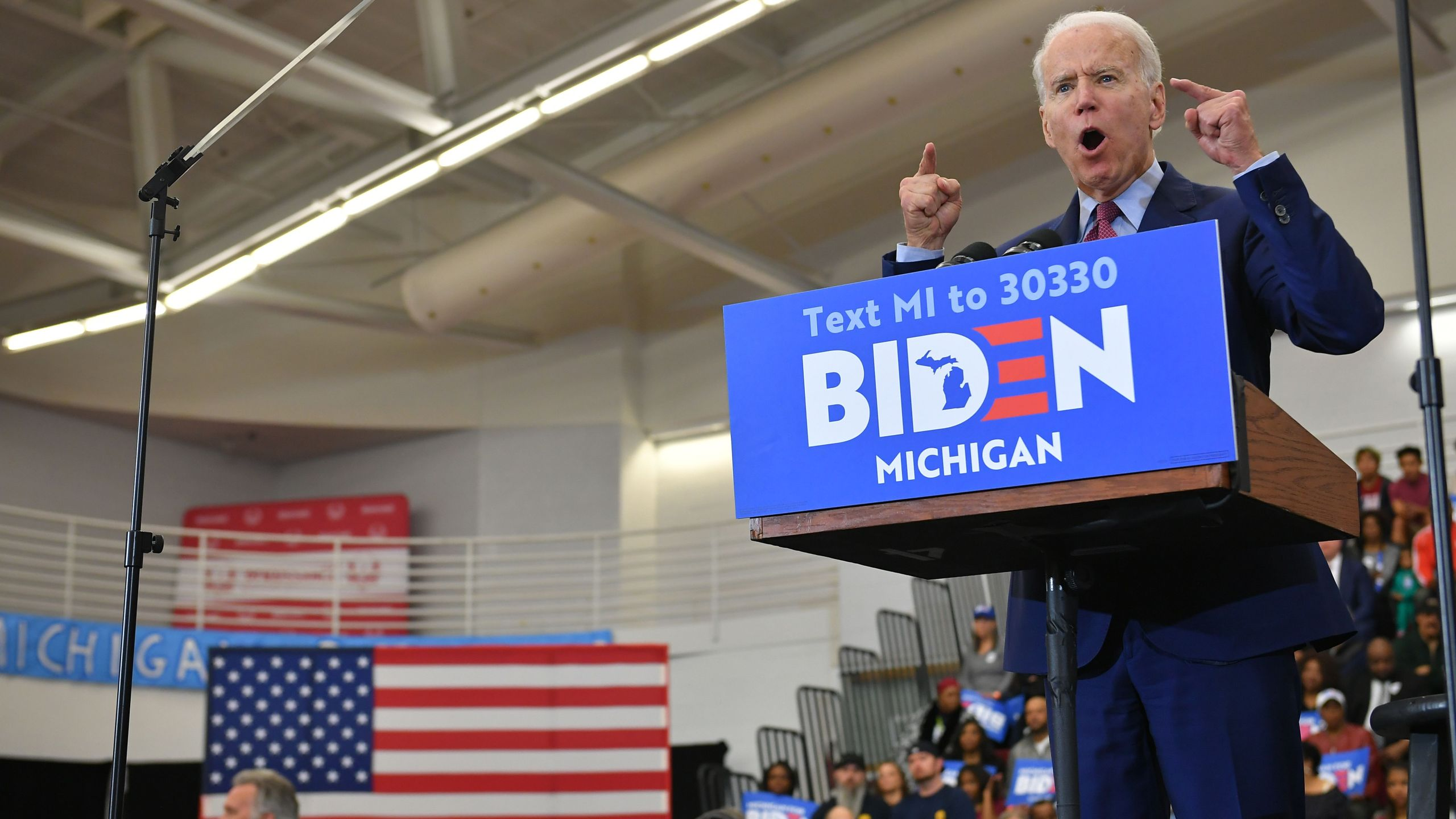 Picture of Biden fist pumping