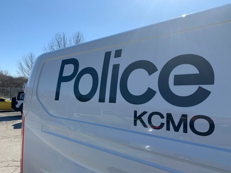 Kansas City police van picture