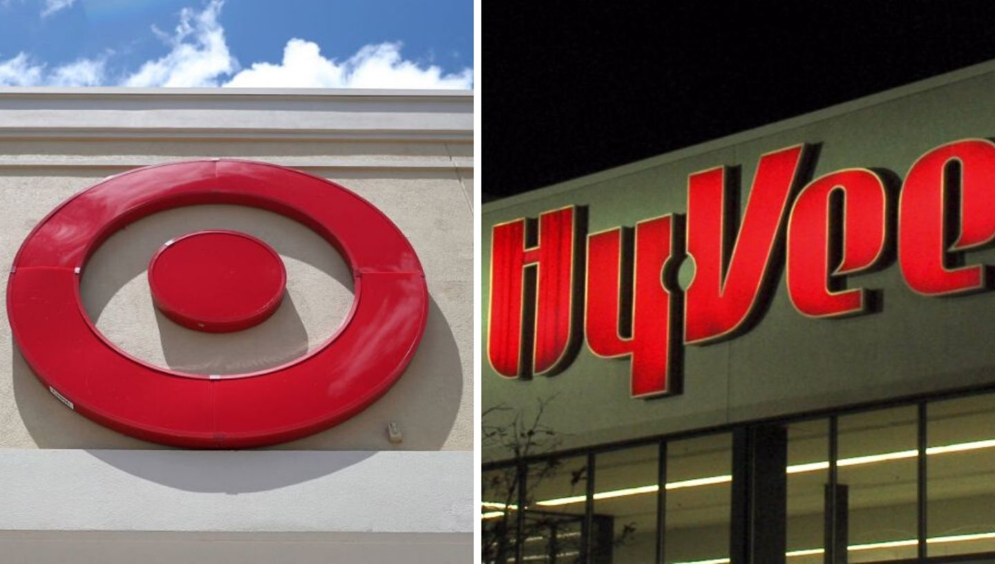Picture of Target and Hy-Vee