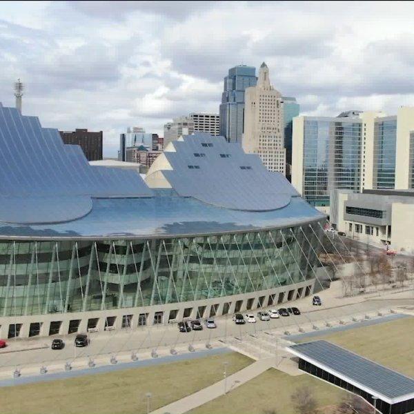Picture of Kauffman Center downtown Kansas City