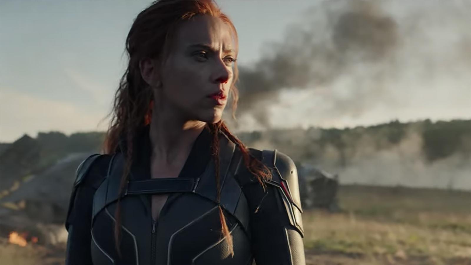 Picture of Scarlett Johansson as Black Widow