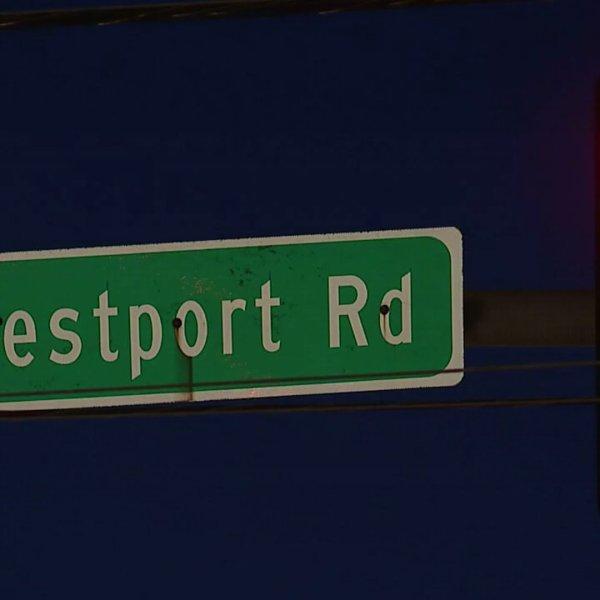 westport road sign
