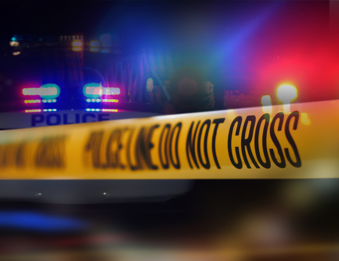 Picture of a crime scene